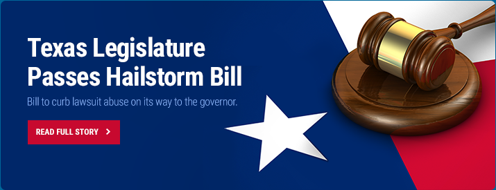Texas Legislature Passes Hailstorm Bill