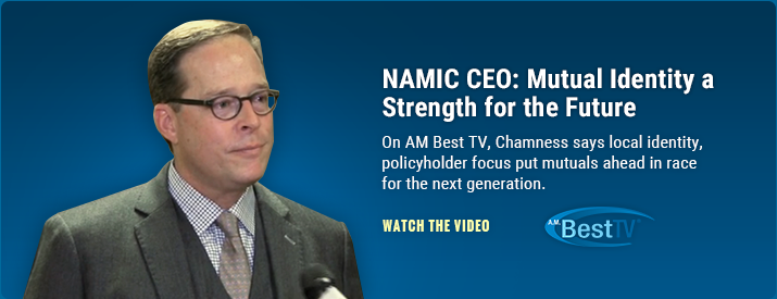 On AM Best TV, Chamness says local identity, policyholder focus put mutuals ahead in race for next generation of policyholders