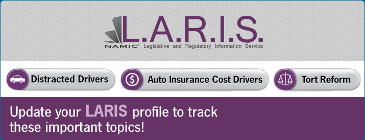 LARIS | Update your LARIS profile to track these important topics!